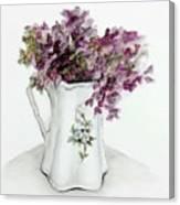 Delicate Bouquet Canvas Print