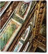 Delicate Details Versailles Chateau Up Close Interior France  Canvas Print