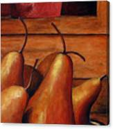 Delicious Pears Canvas Print