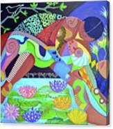 Delirios Canvas Print