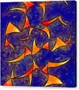Delissianum V1 - Dancing Fire Canvas Print