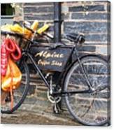 Delivery Awaits Canvas Print
