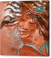 Della - Tile Canvas Print