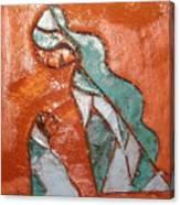Dellas Gal - Tile Canvas Print