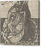 Delphian Sibyl Canvas Print