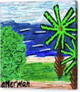Delray Beach Canvas Print