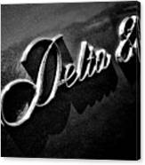 Delta 88 Badge Canvas Print