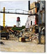 Demolition 4  Canvas Print