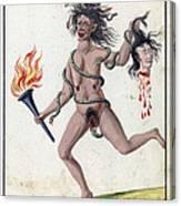 Demonology, 18th Century Canvas Print