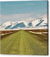 Dempster Highway - Yukon Canvas Print
