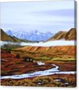 Denali Autumn Canvas Print