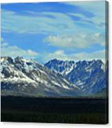 Denali Valley Canvas Print