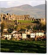 Denbigh Castle Canvas Print