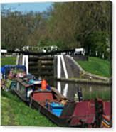 Denham Deep Lock Canvas Print