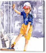Denis 02 Canvas Print