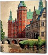 Denmark, Castle, Romance Of The Middle Ages Poster Canvas Print