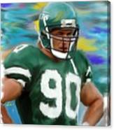 Dennis Byrd Canvas Print