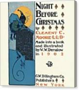 Denslows Night Before Christmas By Clement Moore Lld 1902 Canvas Print