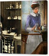 Dentist - An Incisive Decision - 1917 - Side By Side Canvas Print