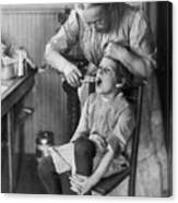 Dentistry, 1920s - To License For Professional Use Visit Granger.com Canvas Print