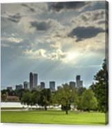 Denver After The Rain Canvas Print