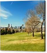 Denver City Park Canvas Print