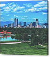 Denver City Park Canvas Print