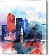 Denver, Colorado Skyline Canvas Print