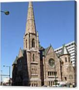 Denver Downtown Church Canvas Print