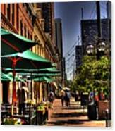 Denver Sidewalk Canvas Print