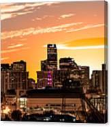 Denver Sunrise Iv Canvas Print