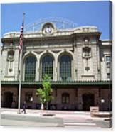 Denver - Union Station Film Canvas Print
