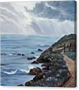 Departing Storm Canvas Print