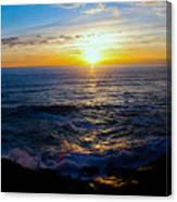 Depoe Bay Sunset Canvas Print