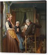 Der Brief Aus See Canvas Print