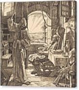 Der Tod Als Freund Canvas Print