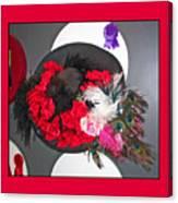 Derby Day Hat - 3 Canvas Print