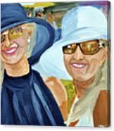 Derby Girls Canvas Print