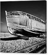 Derelict Boat Canvas Print