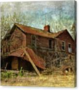 Derelict House Side Canvas Print