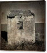 Derelict Hut  Textured Canvas Print