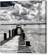 Derelict Wharf Canvas Print