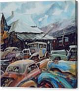 Derelicts at Hillsboro Canvas Print