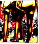 Derriere Canvas Print