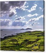 Derrynane National Park Along Ring Of Kerry, Ireland Canvas Print