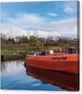 Derwent Water Harbor Canvas Print