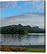 Derwentwater Spring Sunset Canvas Print