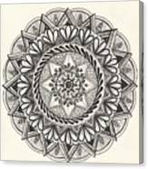 Des Tapestry Medallion Canvas Print