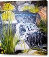 Descanso Waterfall Canvas Print