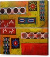 Descendance Dyptich Canvas Print